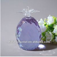 2012 Concise and easy crystal pineapple wedding decoration