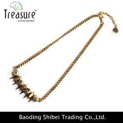 2015 fashion high-end gold chain artificial jewelry