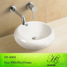 HS-5003 round counter top wash basin,bathroom wash basin price in india