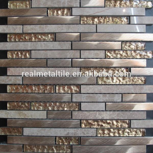 glas nat rliche aluminium stein mosaik fliesen 8 dicke wand kunst bild. Black Bedroom Furniture Sets. Home Design Ideas