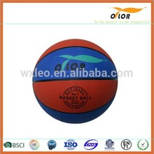 8 pannels Size 7 China manufacture pu leather basketball