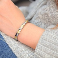 Stainless Steel Bracelet with germanium,ions,FIR,magnet