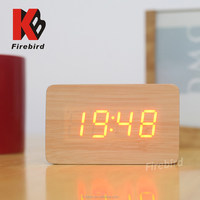 wholesale floor standing alarm clock mosque wall clock with date and temperature