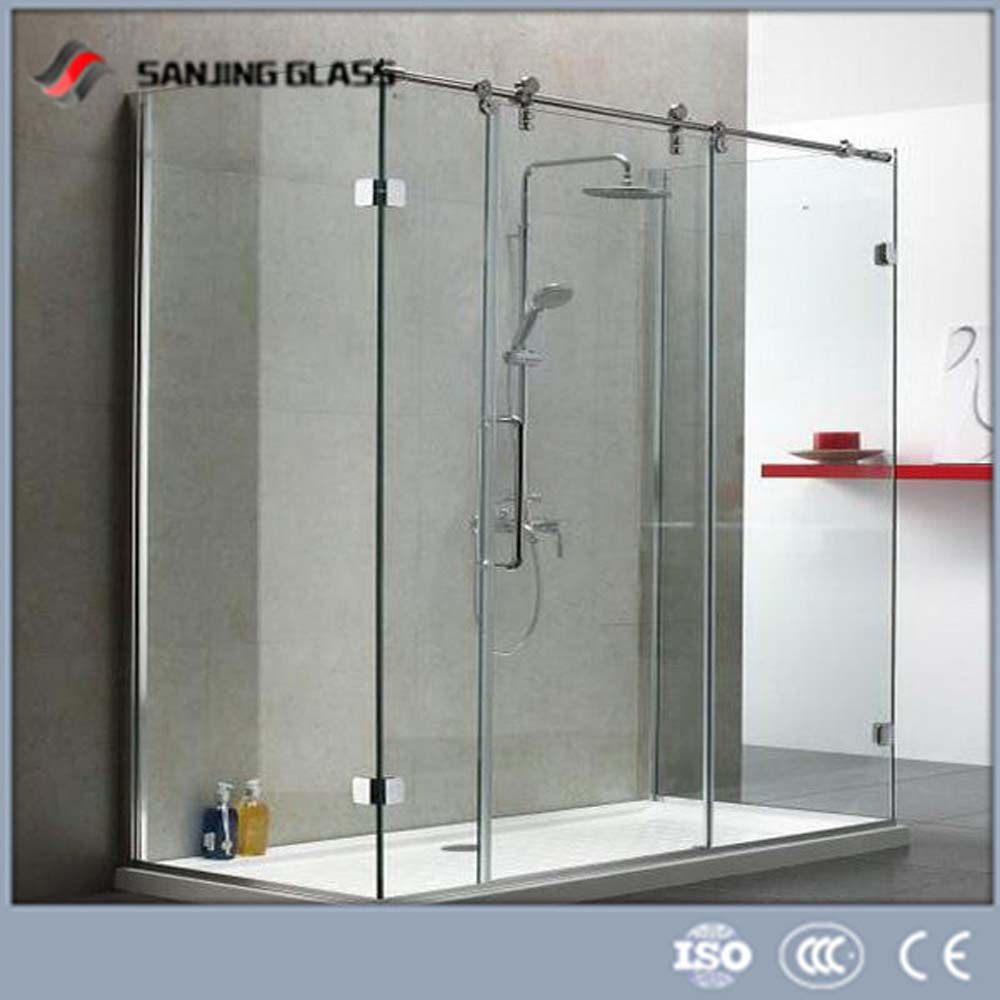 Tempered glass shower door tempered glass shower door for Buy glass shower doors