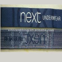 Jacquard elastic band for underwear