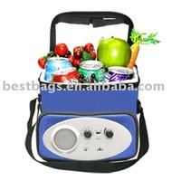 speaker bag radio cooler