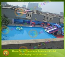 Inflatable family swimming pools/durable and cheap family use swimming pools