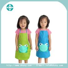 Waterproof layer kids/children pvc apron