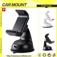 2015 New Unique Design Car Mobile Phone Holder with Auto Openning Clamp For All Smartphones
