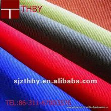 Polyester/cotton twill stretch fabric supplier