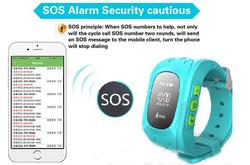 Bluetooth kids gps mobile smart watch w5 phone