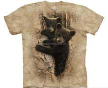 custom kids print t shirt tie dye cute animal printing