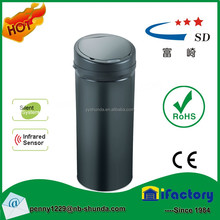 steel waste bin sensor trash can hidden compartment