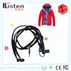 business idea 2015 waterproof earphone headphone in ear shoelace earphone