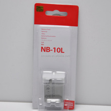 Rechargeable li-ion battery 7.4v for canon camera nb-10l batteries For Canon SX50 SX40 HS G1X NB10L NB-10L