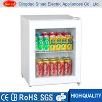 Cold Drink Refrigerator, Glass door mini bar Fridge, Mini beverage display cooler