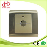 Hot sale good quality led voice control timer wall switch with indicator lamp time delay touch switch