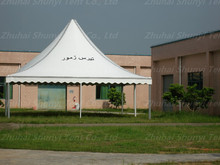 Heat resistant white rengtagular tents for funeral with chairs very useful