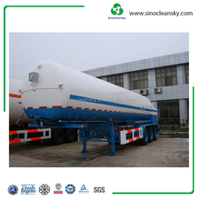 ASME Standard Cryogenic Lorry Tanker for Liquid Gas Transportation
