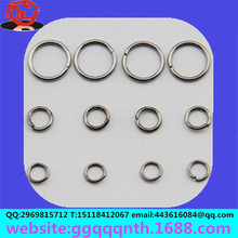 jewelry clothing garment accessories hardware metal stainless steel round closed jump ring