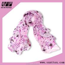 High quality new style chiffon pashmina shawls long scarf