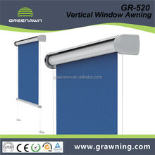 Greenawn aluminum frame awnings for windows
