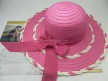new design cheap ladies summer straw hats