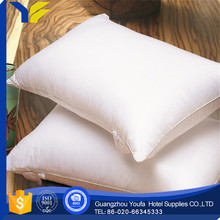 bedding manufacter 100% polyester firm down and feather sleeping pillow insert