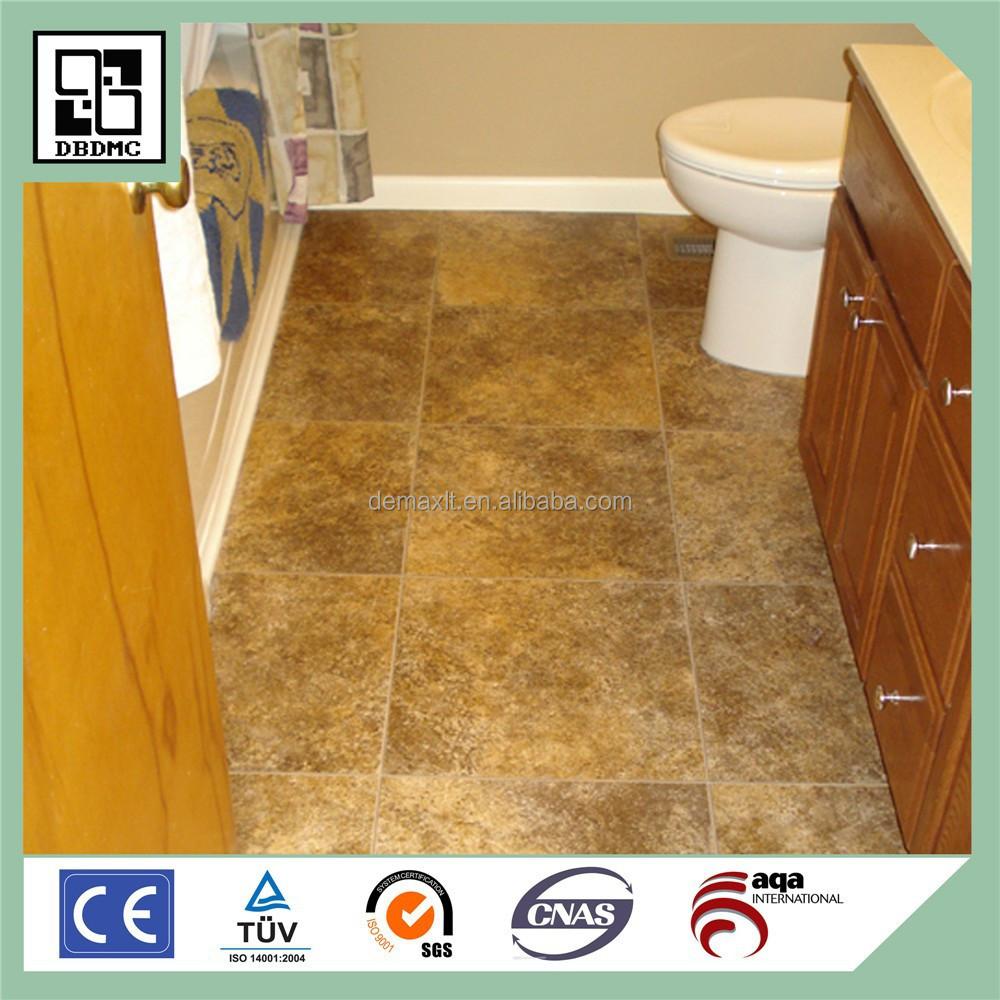 Low price guaranteed quality vinyl floor bathroom buy for High quality vinyl flooring