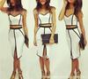 Fashion Design! Womens Ladies Slim Bodycon Bandage Pencil Skirt Party Dress QZ5025