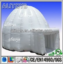 China inflatable white dome tent for camping from china tents supplier