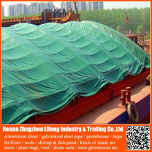 waterproof pe plastic green / blue / orange garden tool cover tarps for roofing cover