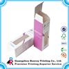 Cheap Paper Cosmetic Box Small Pvc Transparent Box Printing
