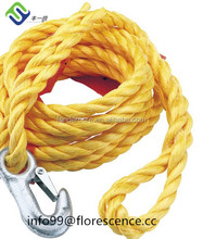 3 meters 3 ton nylon boat tow rope for automotive