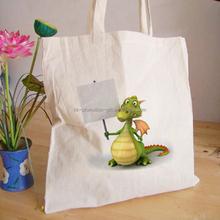 2015 hot sale eco friendly organic cotton shopping bag promotion/tote bag cotton/big cotton handbag