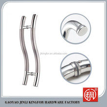 2015 Hot style cheap stainless steel sliding glass shower door pull handle