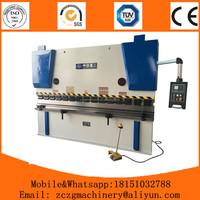 2015 ultramodern hydraulic WC67K press brake,metal hydraulic bender pro max metal bending machine