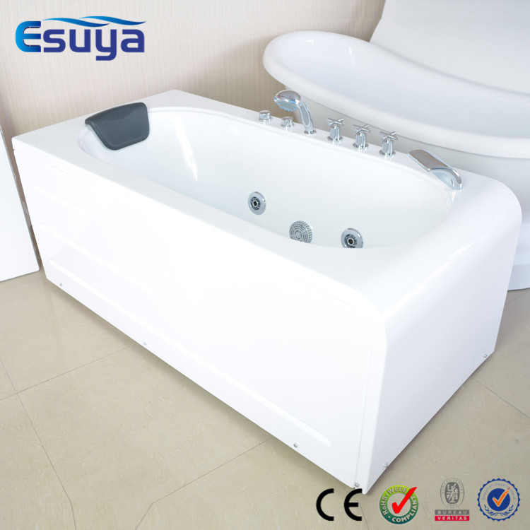 Luxury design acrylic massage bathtub whirlpool appliances for Best acrylic bathtub to buy