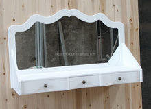Best quality low price white dressing table mirror price