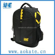 black digital single lens reflex bag and camera backpack bag