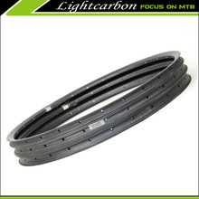 2016 Lightcarbon mtb carbon rims 27.5er 23.5 profile 30mm width mtb rims carbon For All mountain/XC Hookless mtb rims set