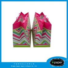 Hot selling sweet puppy paper gift bag with low price