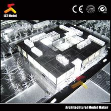 3d rendering design architectural models for public building