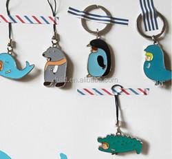 metal enamel keychain key chain /custom design enamel keyring key ring /nice metal key tag fob