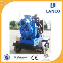 Trailer Water Pump For Industrial Waist Water Handling