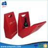 Custom Take Away Paper wine bottle Box