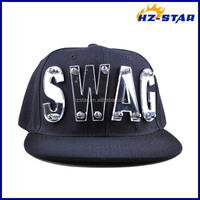 HZM-14282002 Customized acrylic letter sport fashion cap/hat and cap/man hat