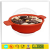 Portable Stretchable Silicon Food Feeder Dish Serving Bowl Water Container for Cat Dog Pet
