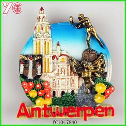 YC1017840 2015 factory active demand creative lovely antwerpen giveaway sublimation fridge magnet