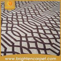 Modern pattern handmade 100% acrylic carpet